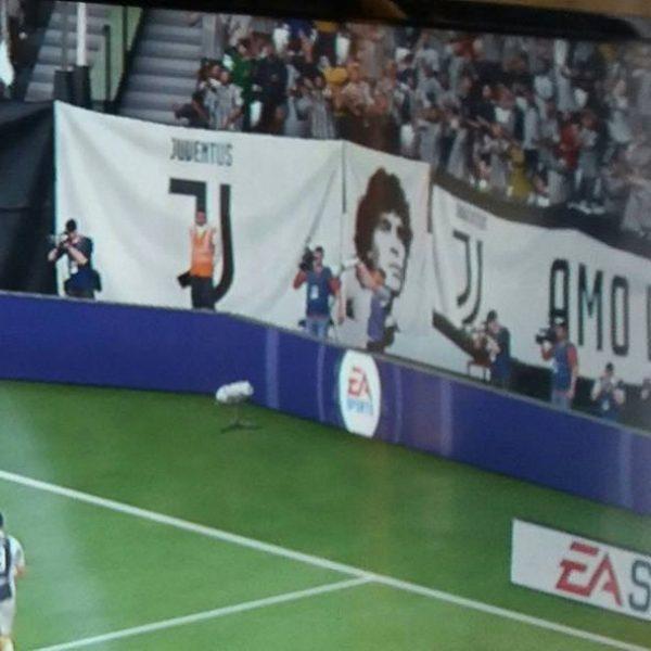 Maradona ama la Juve... ma solo a FIFA!