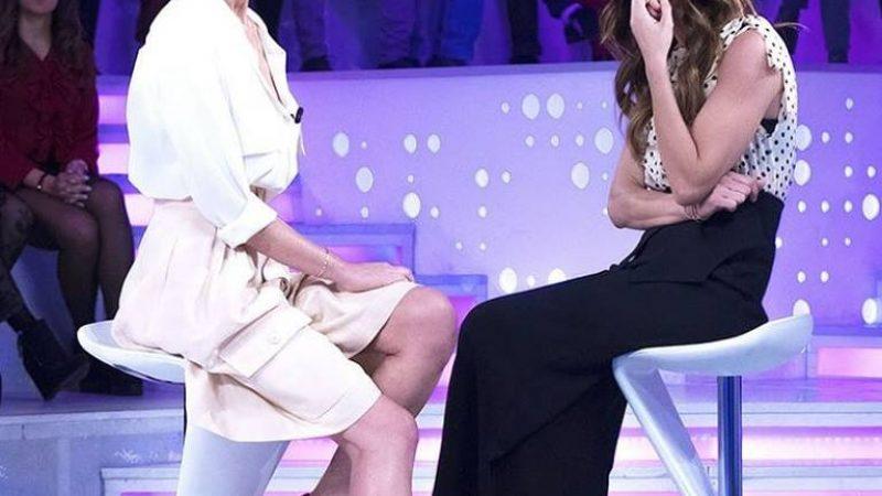 """Alessia Marcuzzi a Verissimo: """"All'Isola ci sono stati momenti difficili"""""""