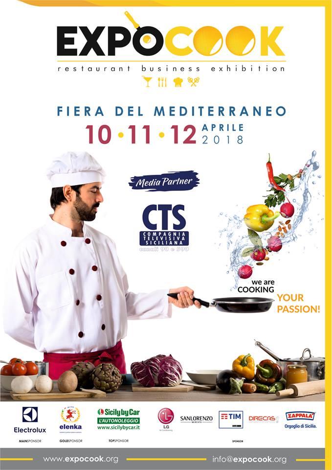 Expocook, tre giorni sul buon cibo in Sicilia