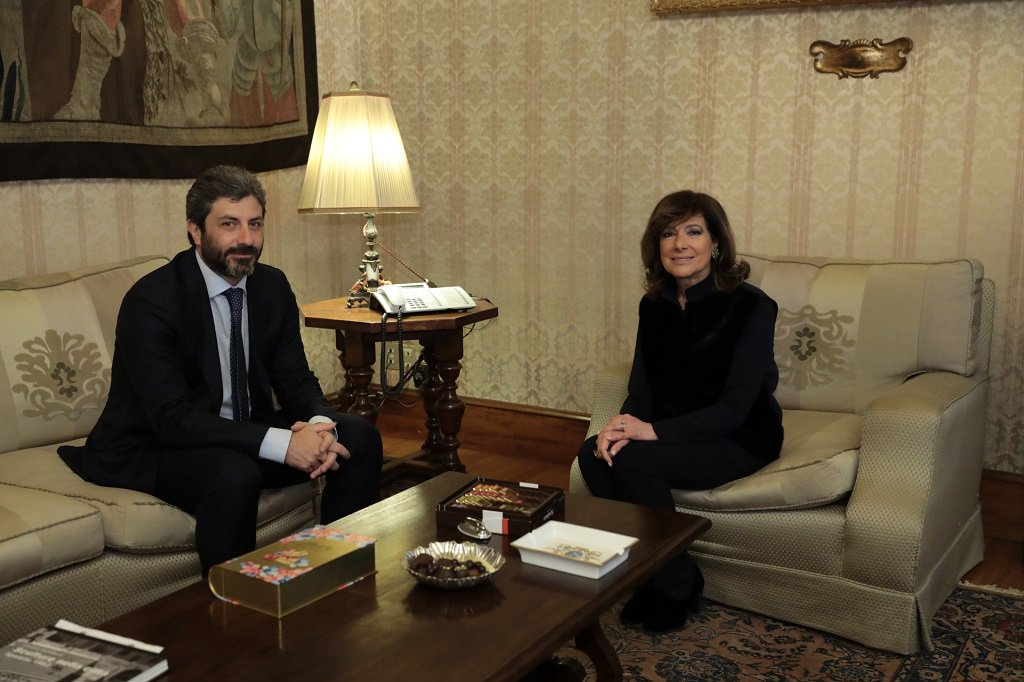 """Vitalizi e privilegi, tra Casellati e Fico è """"colpo di fulmine"""""""