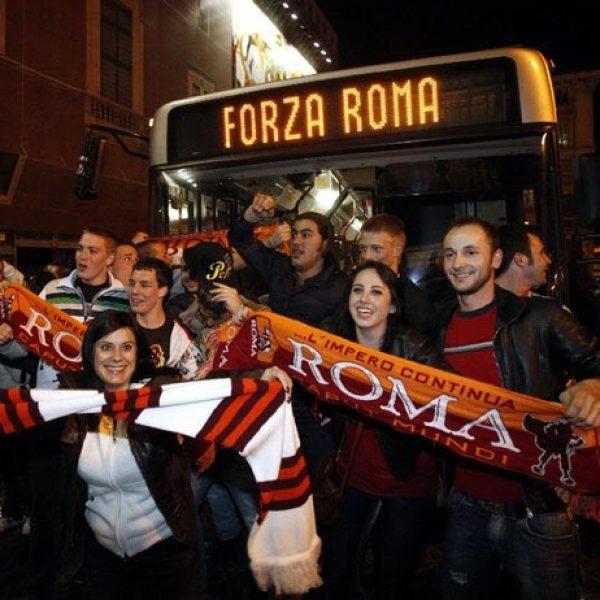 La magica notte di Roma: va in scena il delirio giallorosso