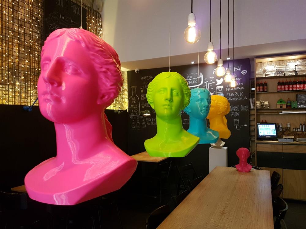 L'arte in 3D che strizza l'occhio all'ecosostenibilità: la mostra di Artficial