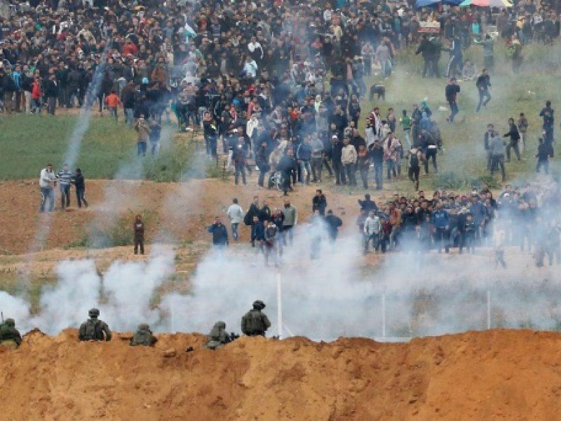 Gaza scontri