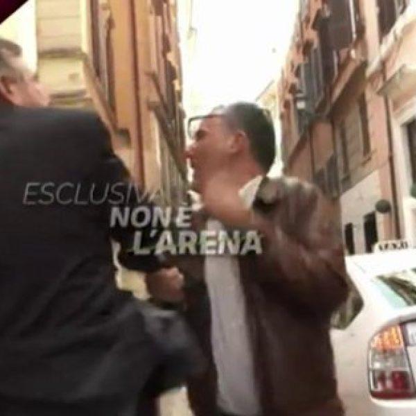 Landolfi (FdI) 'ipersensibile' schiaffeggia giornalista La7
