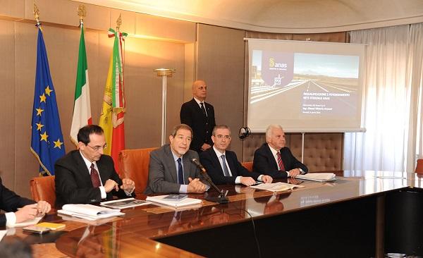 """""""Investimenti per 4 miliardi"""", intesa tra Regione Siciliana e Anas"""