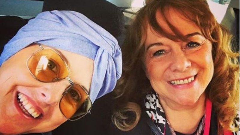 """Nadia Toffa, la prima foto senza parrucca: """"Giornata favolosa con mamma"""""""