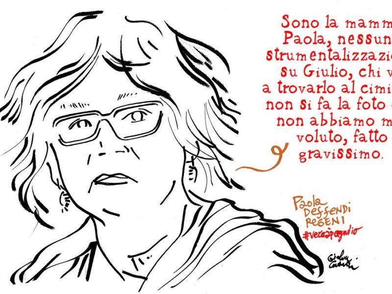 La mamma di Giulio Regeni: