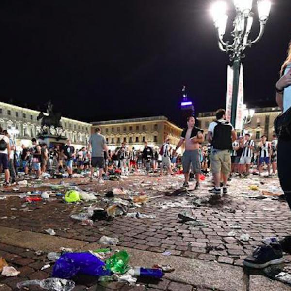 Scatenarono il panico a Piazza San Carlo, 8 arresti