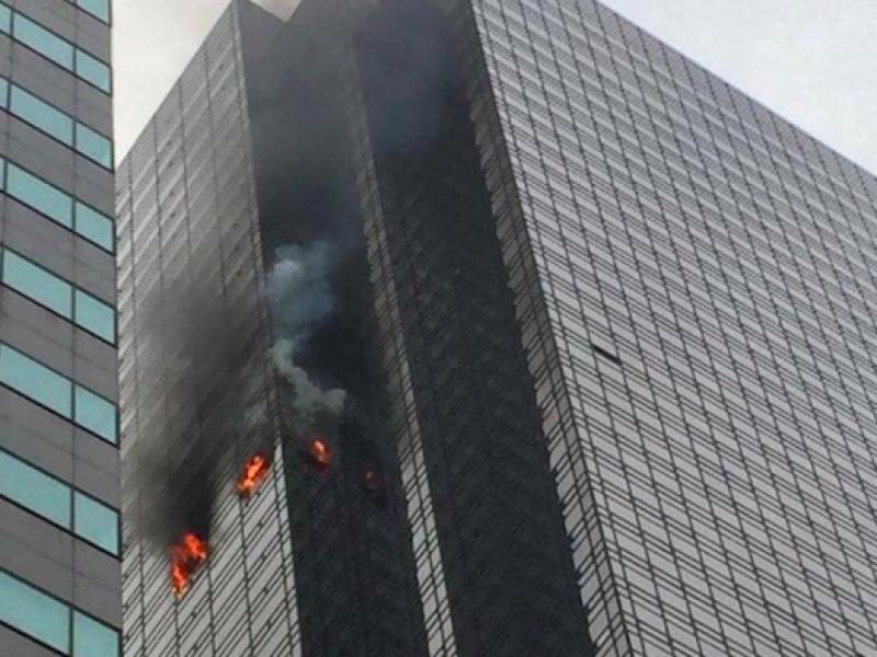incendio new york morto, incendio trump tower, morto trump tower, Trump Tower