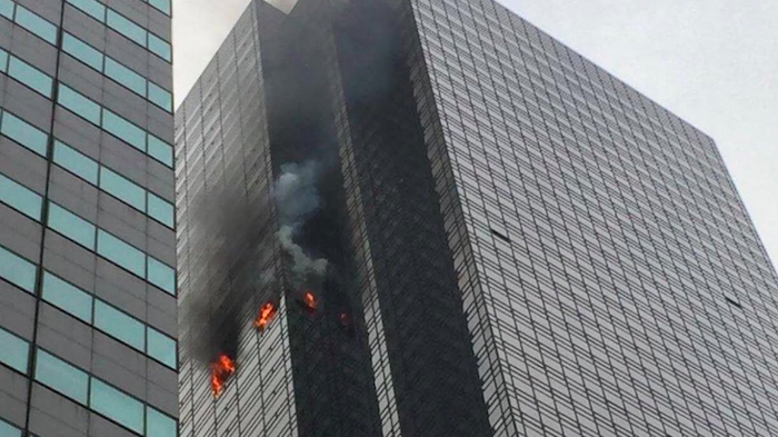 Usa, rogo in cima alla Trump Tower: un morto