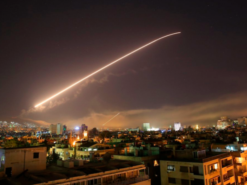 smentito attacco missilistico su Homs, tv locale annuncia aggressione in Siria ma è falso allarme, falso allarma nuovo raid in Siria, il pentagono smentisce nuovo attacco in Siria, Damasco,
