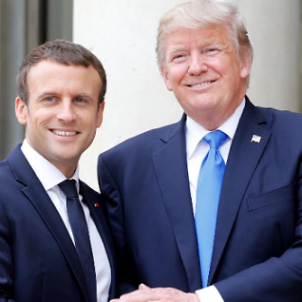 Siria, Trump risponde a Macron: