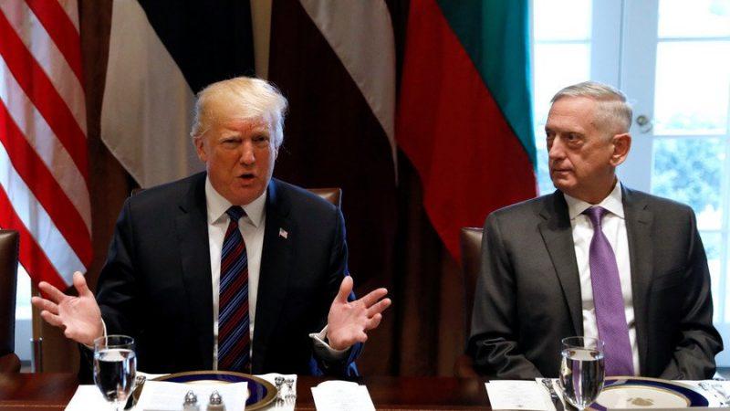 Il NY Times rivela lo scontro Trump-Mattis sui raid in Siria