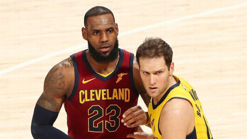 Playoff NBA, Bogdanovic stende Cleveland. Accorciano Wizards e Bucks