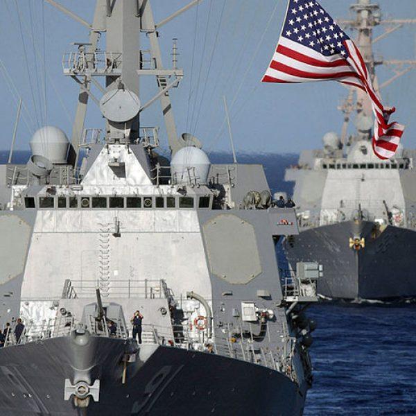 Siria, nave da guerra americana in avvicinamento