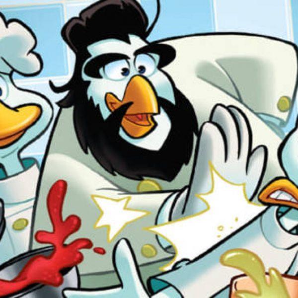 Cannavacciuolo a fumetti per Topolino