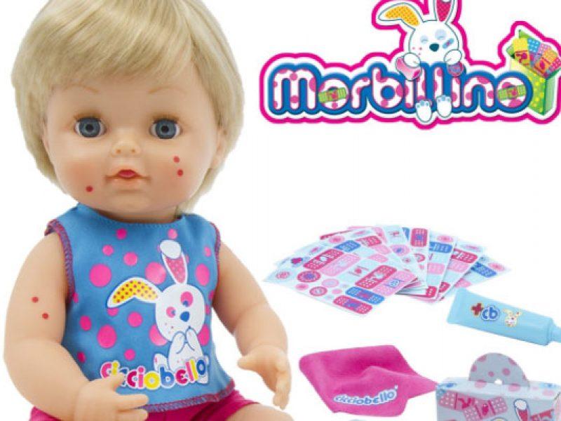 Cicciobello con il morbillo, il web chiede il ritiro del bambolotto