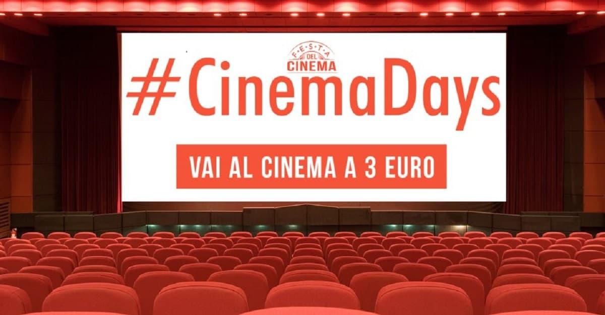 Cinemadays 2018, le novità e le sale aderenti