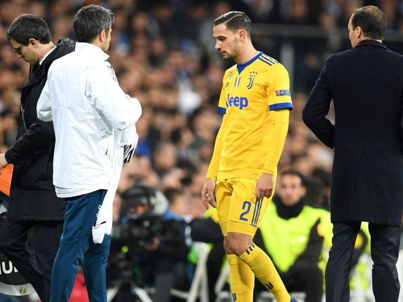Juventus Real Madrid De Sciglio