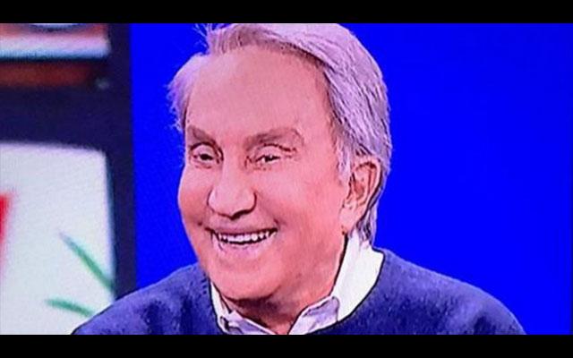 """Emilio Fede smentisce il gossip: """"Non mi sono rifatto"""""""
