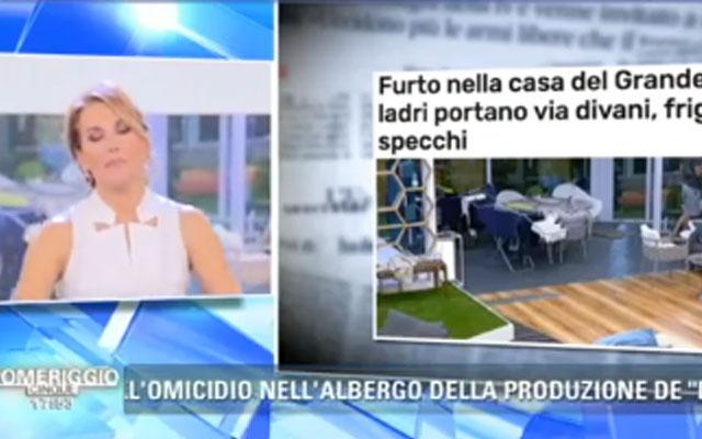 """Furto al Grande Fratello, Barbara D'Urso: """"È una fake news"""""""