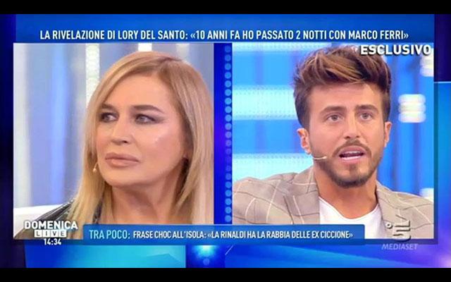 Gossip, Marco Ferri e Lory Del Santo e la notte passata insieme…