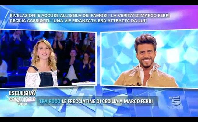 """Marco Ferri smentisce il gossip: """"Non sono gay"""""""