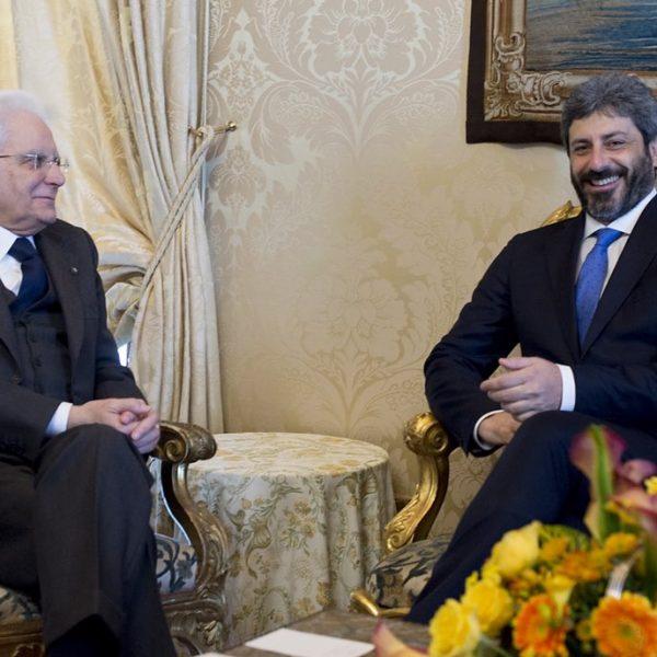 Governo, Mattarella affida a Fico mandato per intesa M5S-Pd