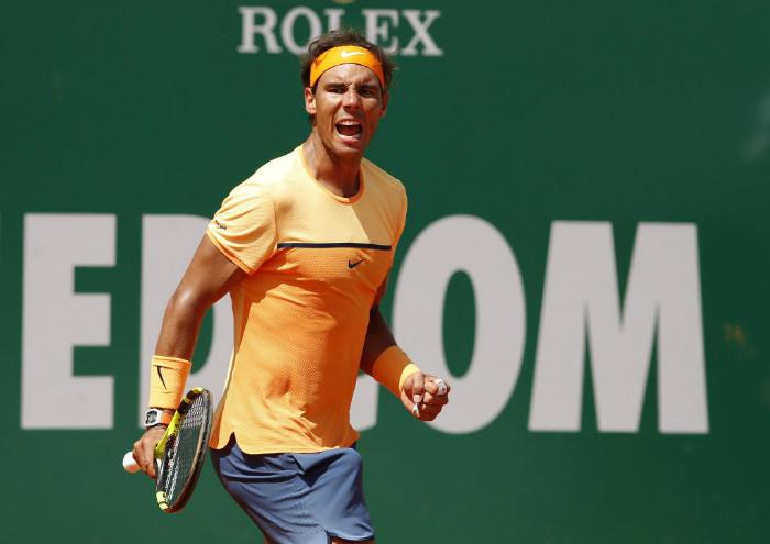 Masters 1000 Monte-Carlo, è Nadal il primo finalista. Battuto Dimitrov in due set