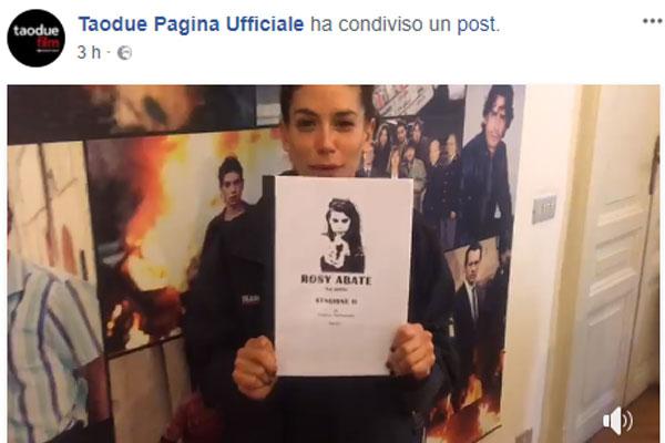 Rosy Abate, Giulia Michelini annuncia la seconda stagione