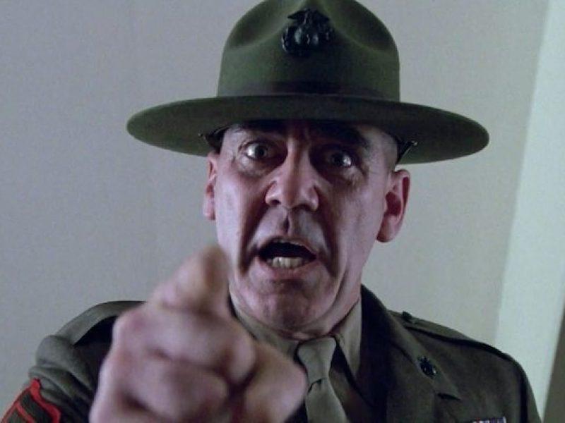Morto Ronald Lee Ermey, morto il sergente Hartman di Full Metal Jacket, morto l'attore Ermey, morto l'attore che interpretò il sergente maggiore Hartman, cinema, lutto, Kubrick,