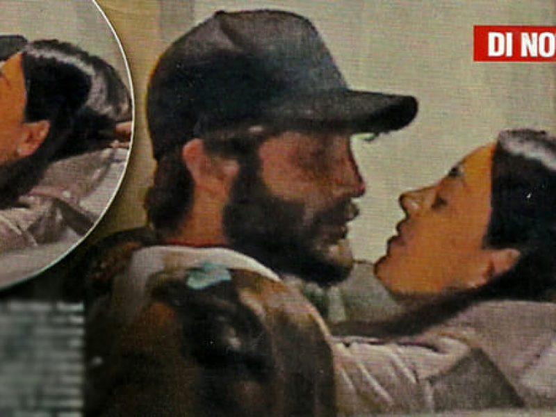 Stefano De Martino riabbraccia il figlio Santiago dopo l'Isola dei Famosi 13