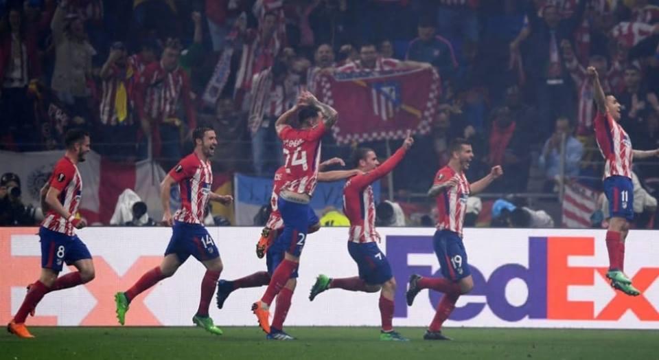 Uefa Europa League, l'Atletico Madrid è campione