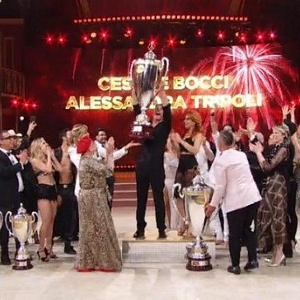 Ballando con le stelle 2018, vince Cesare Bocci