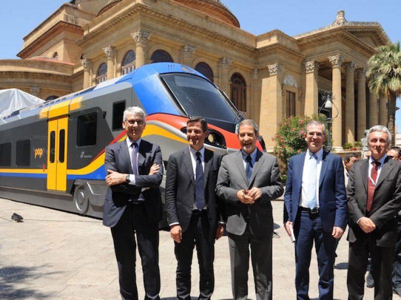 contratto servizio Sicilia, contratto servizio Trenitalia, ferrovie Sicilia, nuovi treni Sicilia, Sicilia, trenitalia