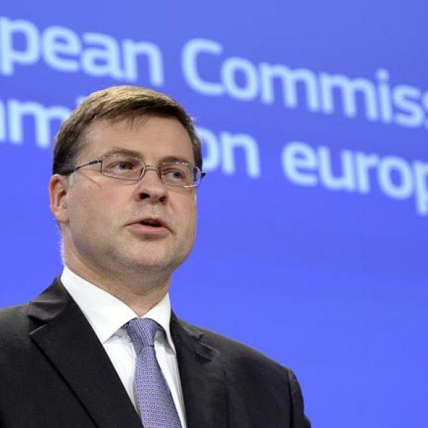 Manovra, Dombrovskis: