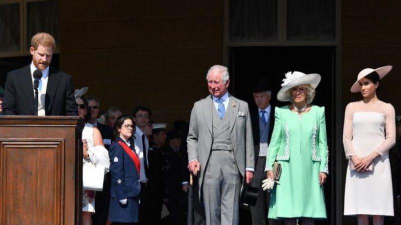 Harry e Meghan, primo impegno ufficiale da marito e moglie