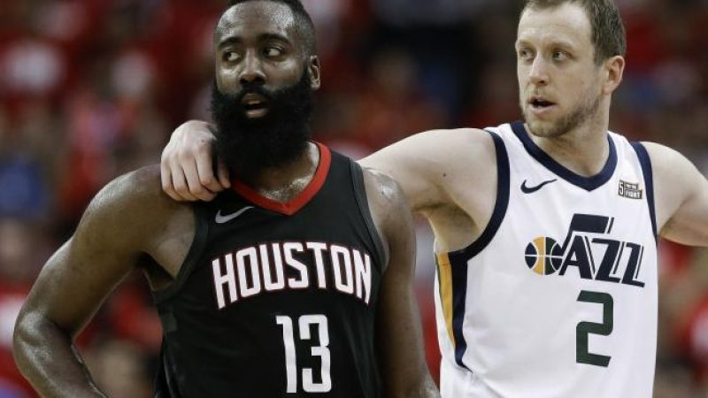 NBA, blitz dei Jazz a Houston. Ingles porta la serie sull'1 – 1