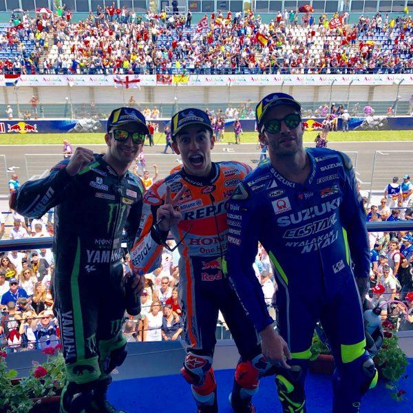 MotoGP: trionfo predetto di Marquez a Jerez, patatrac Ducati-Pedrosa