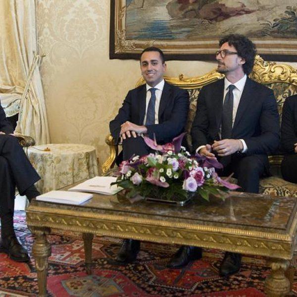 Di Maio e Salvini: