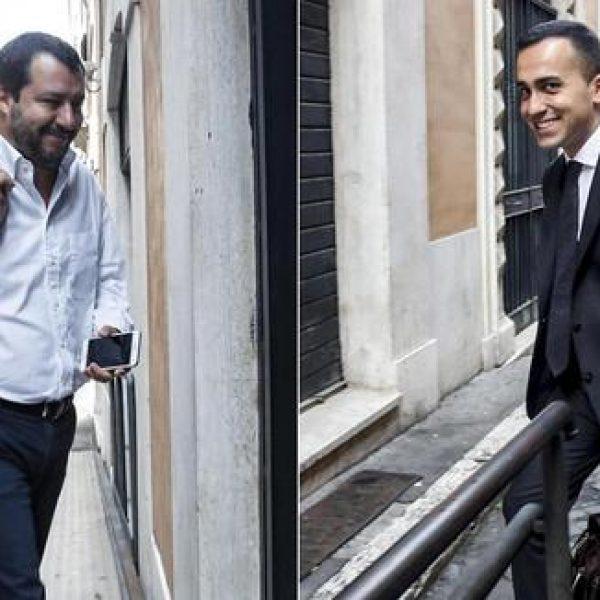 Accordo Lega-M5S, Salvini e Di Maio 'fuori dall'esecutivo'