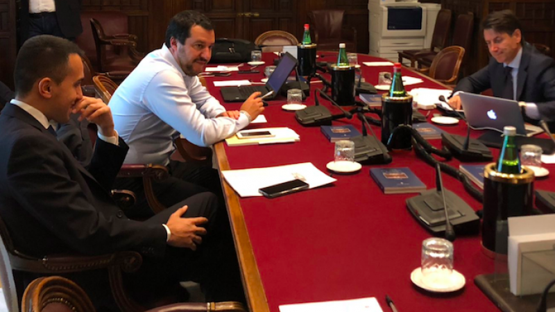 """Decreto Fiscale, Salvini: """"Riscriviamolo da zero"""". Conte: """"Nessuna crisi"""""""