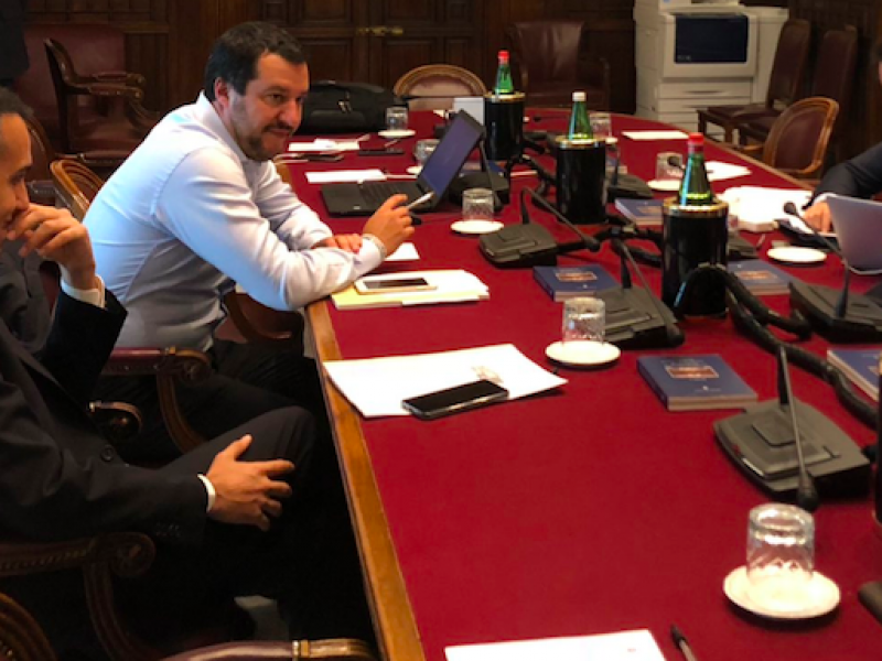 Di Maio governo, formazione governo conte, governo, governo conte, governo lega-m5S, lista ministri, Salvini Governo