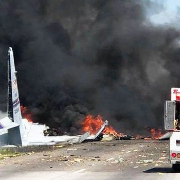 Usa, cargo militare C-130 precipita in Georgia: 2 vittime