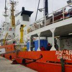 Spagna, dopo nove giorni la nave Aquarius è a Valencia