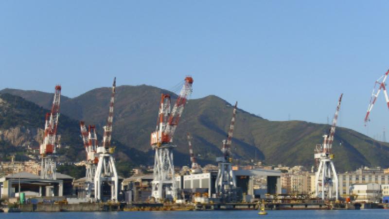 La Spezia, operaio muore in un cantiere navale