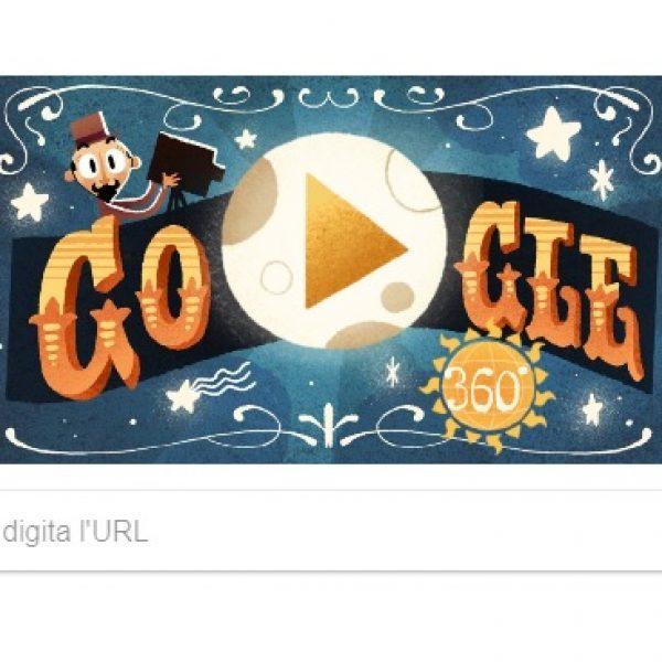Google, doodle dedicato a Georges Méliès