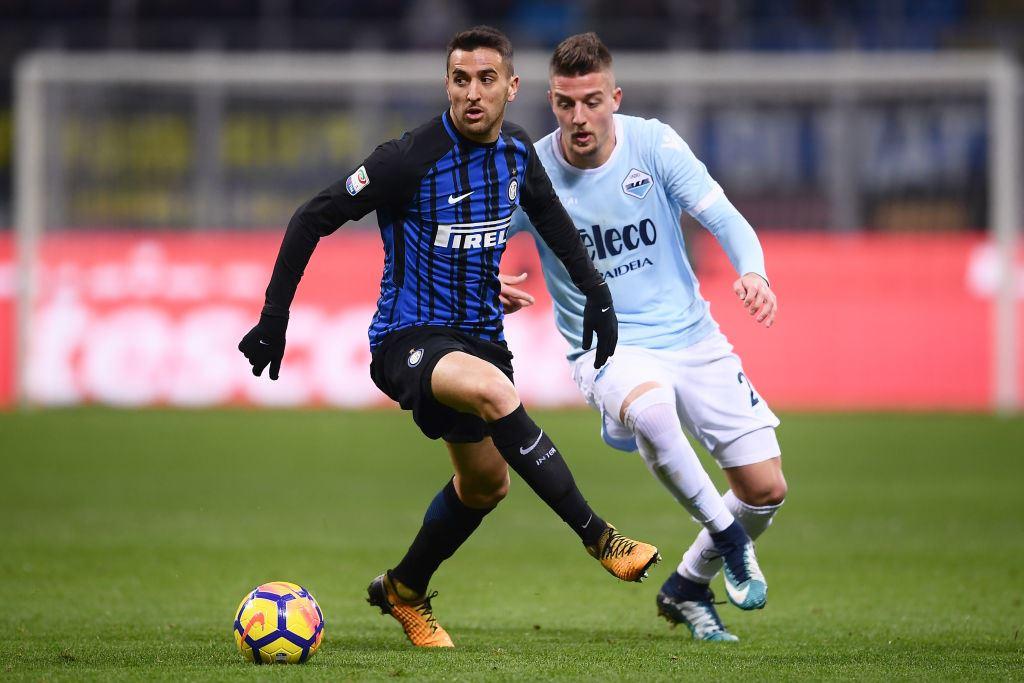 Inter, stop per Vecino in nazionale: è in dubbio per il derby