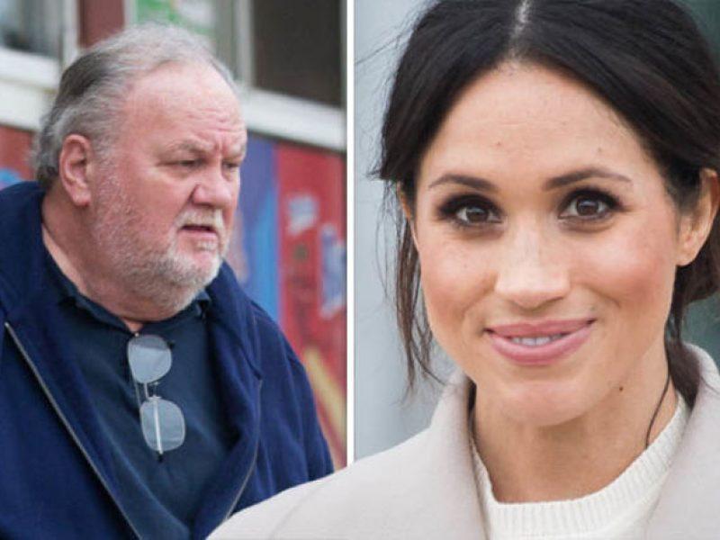 il padre di meghan markle non sarà presente al royal wedding perché ha subito un intervento al cuore