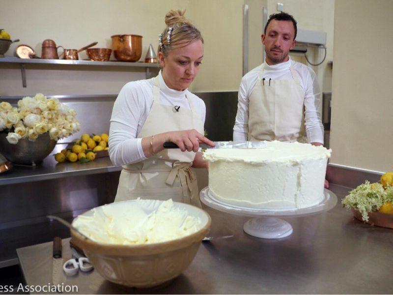 torta nuziale harry e meghan
